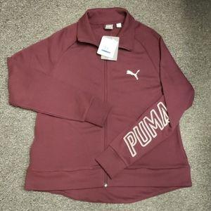 🌞 NWT Women's Puma zip-up jacket size XL
